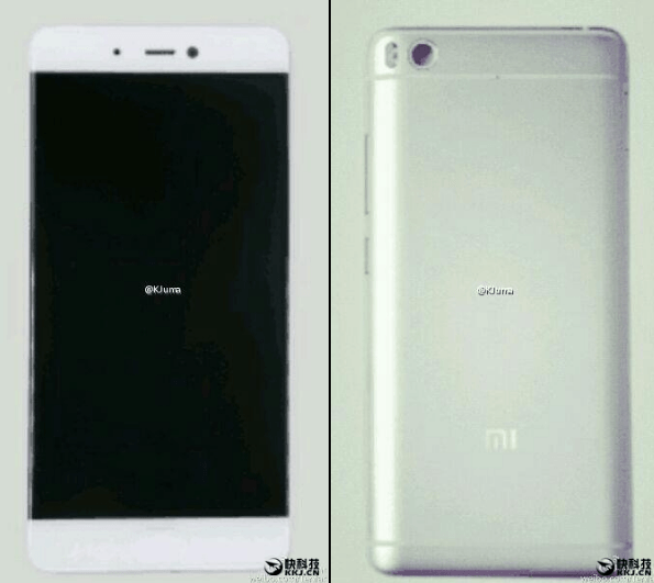 Вышел рендер накотором Xiaomi Mi5s изготовлен вкерамическом корпусе