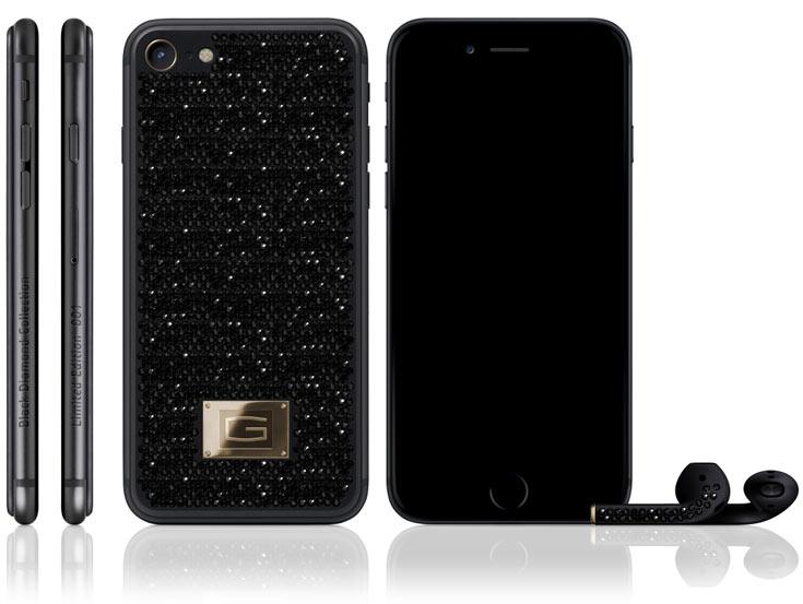 Компания Gresso объявила о выпуске своего варианта отделки смартфона iPhone 7