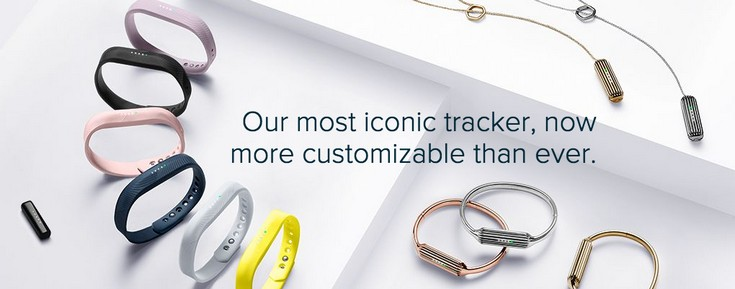 Fitbit представила трекеры Flex 2 и Charge 2