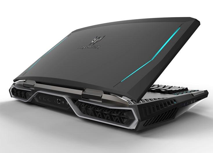 Ноутбук Acer Predator 21 X умеет следить за движениями глаз пользователя