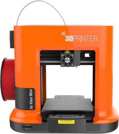 В da Vinci Mini используется технология послойного наплавления