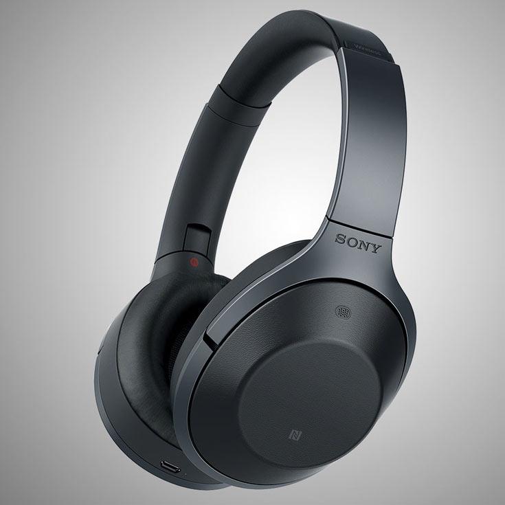 В наушниках Sony MDR-1000X используются динамические излучатели диаметром 40 мм