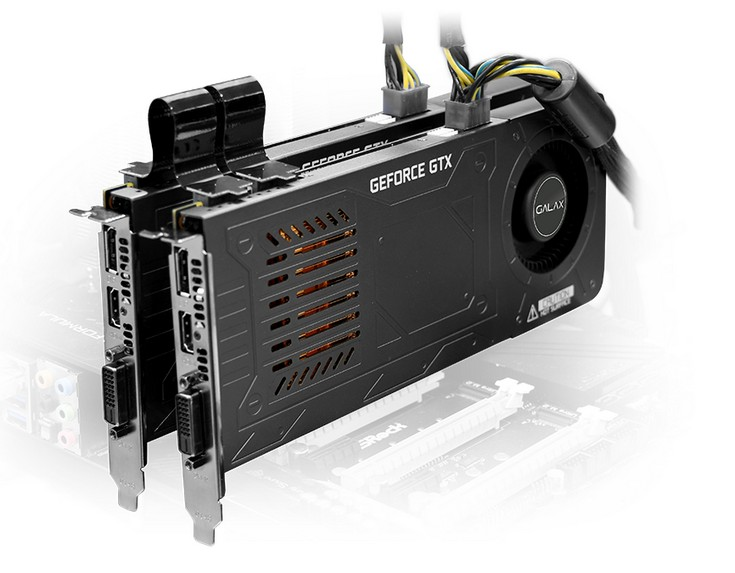 Galax представила видеокарту GeForce GTX 1070 Katana