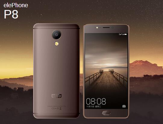 Официально представлены камерофоны Elephone P8 иElephone P8 Мини