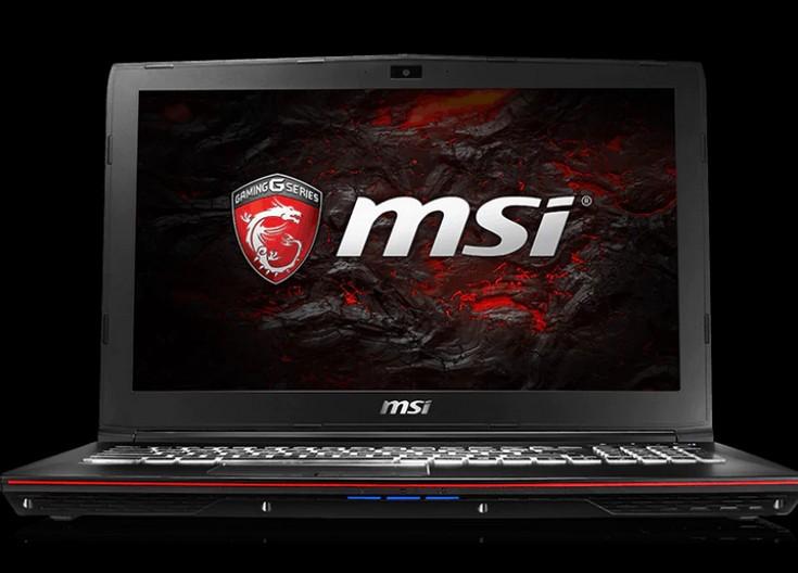 Ноутбуки MSI GP72VR 7RF Leopard Pro и GP62 Leopard Pro