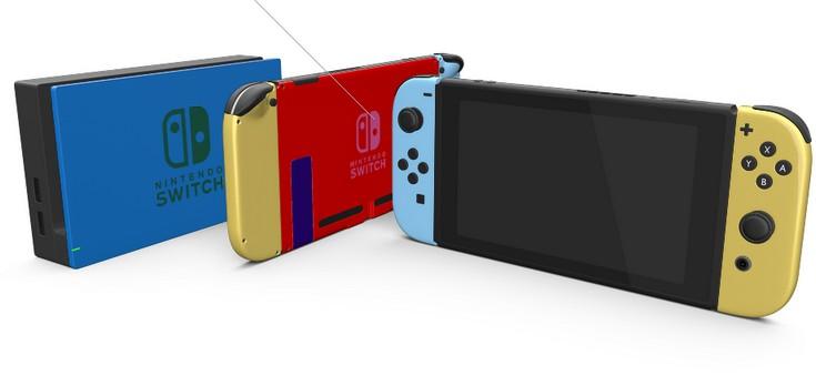 ColorWare предлагает покупателям разукрасить консоль Nintendo Switch