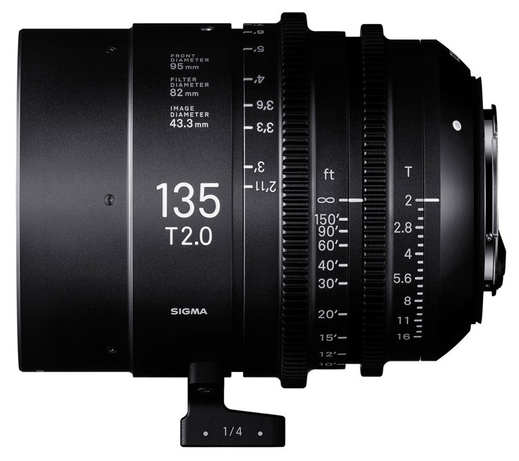 Объектив Sigma Cine 135mm T2