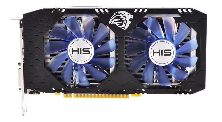 HIS оснастила видеокарты Radeon RX 550 разъёмом дополнительного питания