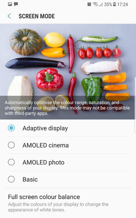 Обновление для смартфонов Samsung Galaxy S8 и S8+, позволяющее корректировать цвета экрана, стало доступно и в Европе