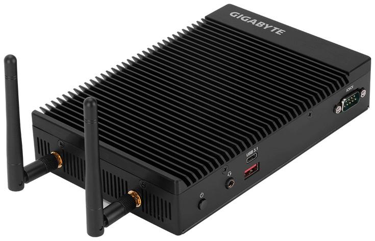 Мини-ПК Gigabyte GB-EKi3A-7100 имеет высоту 36 мм