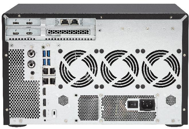 NAS Qnap TVS-1282T3 получило ЦП Intel Core поколения Kaby Lake