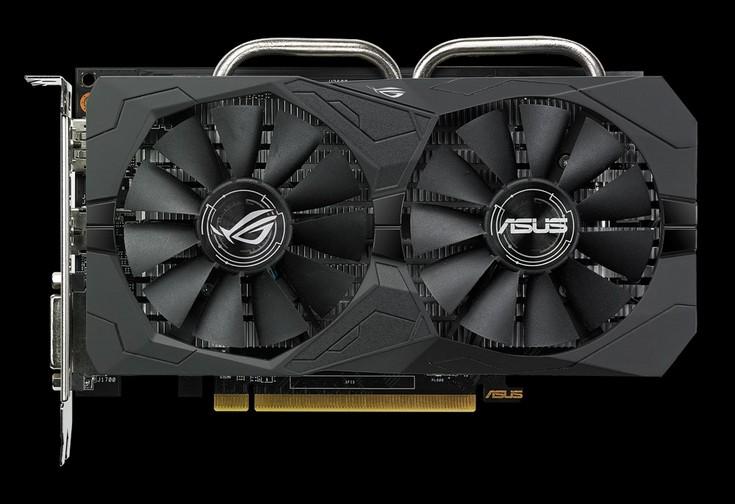 Asus первой представила видеокарты Radeon RX 560