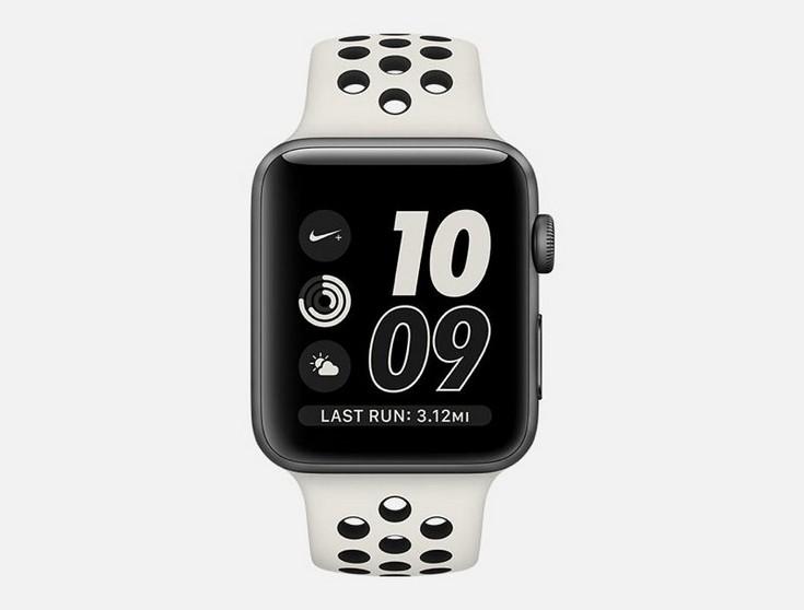 Apple Watch NikeLab  версия умных часов Apple Watch Series 2 в монохромном стиле