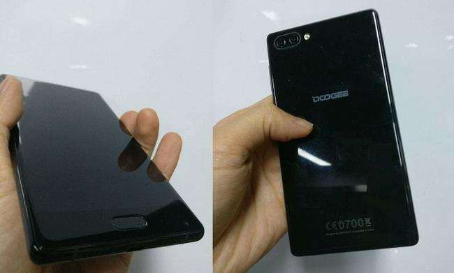 Doogee, копируя смартфон Xiaomi Mi Mix, не стеснялась позаимствовать не только дизайн, но и название