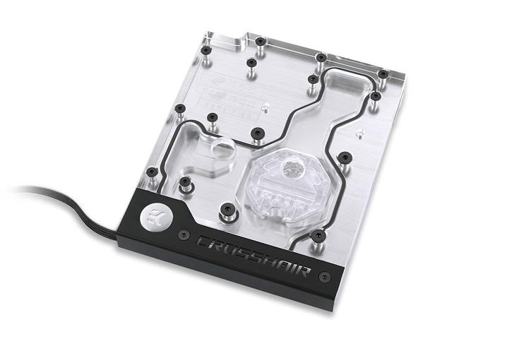 Одной из особенностей EK-FB Asus C6H RGB Monoblock является комплектация планкой с четырьмя светодиодами
