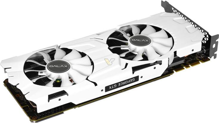 3D-карты Galax GTX 1080 Ti EXOC White и KFA2 GTX 1080 Ti EXOC White разогнаны производителем и окрашены в белый цвет