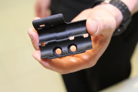 Команда МакЛарен будет использовать детали сделанные напортативном 3D-принтере