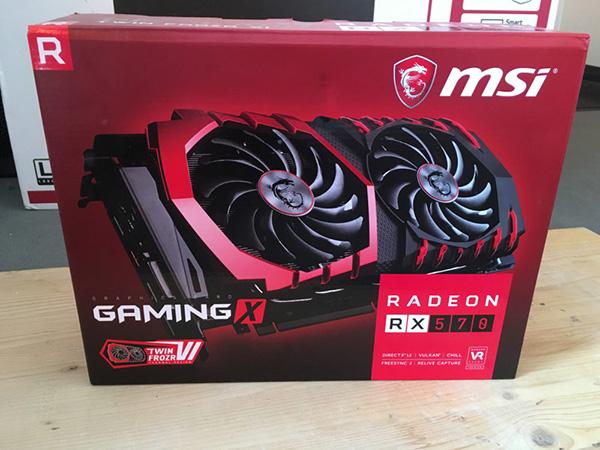 MSI Radeon RX 570 Gaming X
