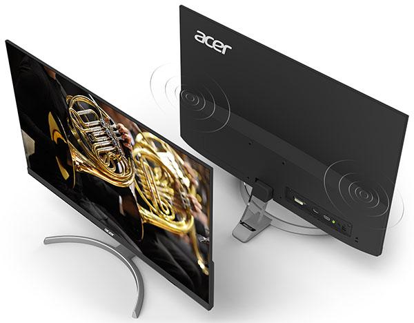 Acer RC271U – 27-дюймовый монитор с узкими рамками экрана и матрицей IPS разрешением WQHD