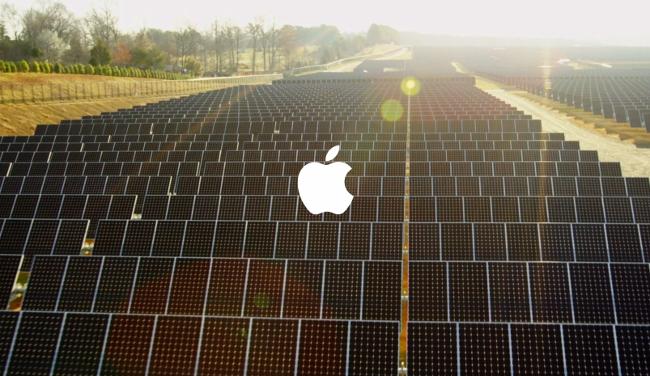 Поставщики Apple перешли навозобновляемые источники энергии