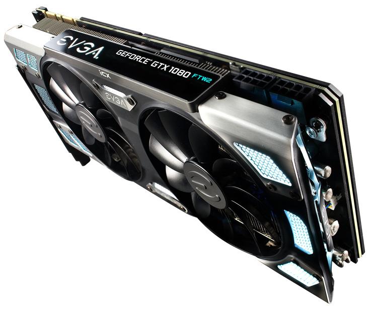 EVGA повышает частоту памяти 3D-карт GeForce GTX 1080 FTW2 и SC2