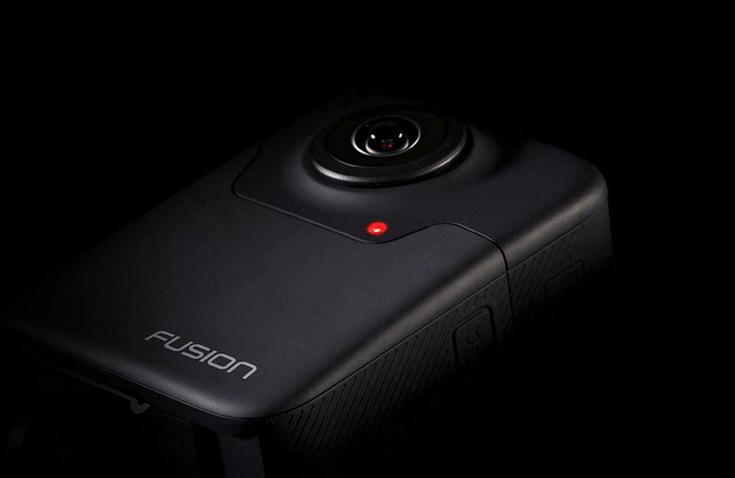 GoPro Fusion — таинственная сферическая камера компании для профессионалов