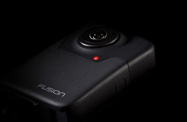 GoPro представила VR-камеру Fusion