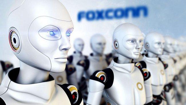 Foxconn увеличивает инвестиции в разработку роботов на $1,5 млрд