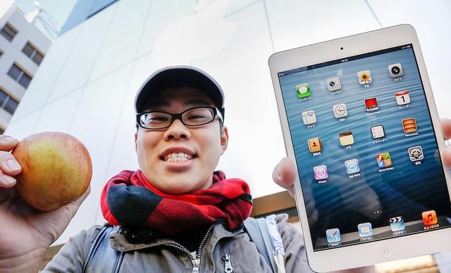Apple заняла более 40% японского рынка планшетов в 2016 году