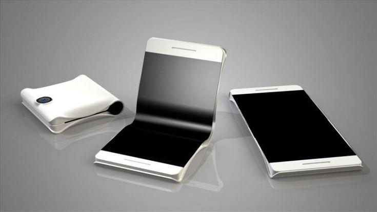 Гибкие мобильные телефоны Самсунг появятся нарынке не 2019-ого