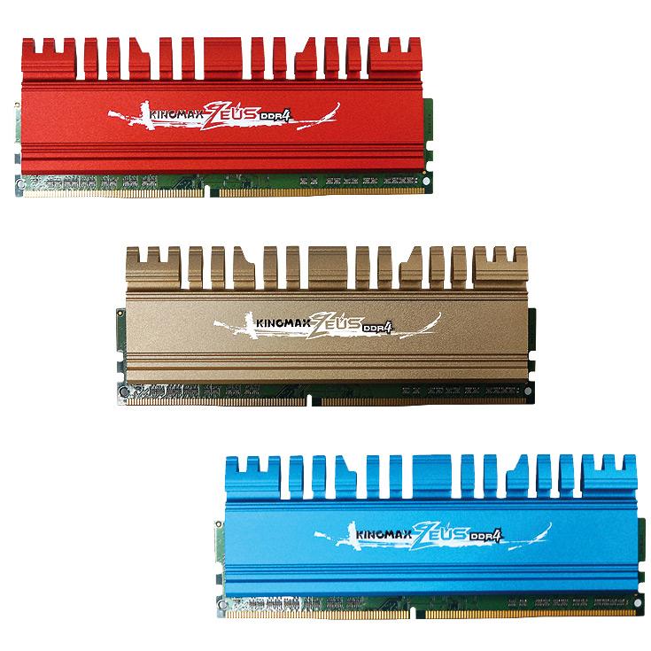 Серию модулей памяти Kingmax Zeus DDR4 пополнили модели, работающие на эффективной частоте 3600 МГц