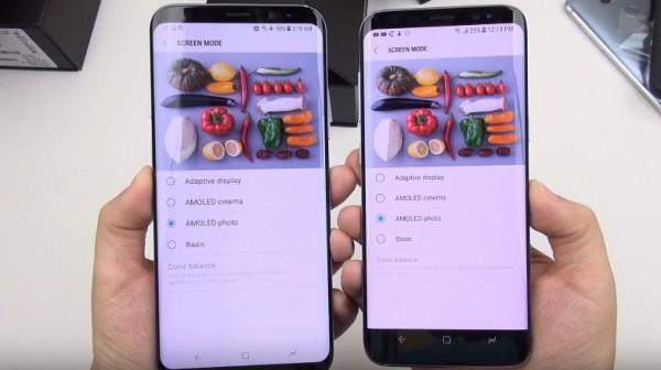 Consumer Reports называет изображение на дисплее смартфона Samsung Galaxy S8 «привлекательным и естественным» даже с красноватым оттенком
