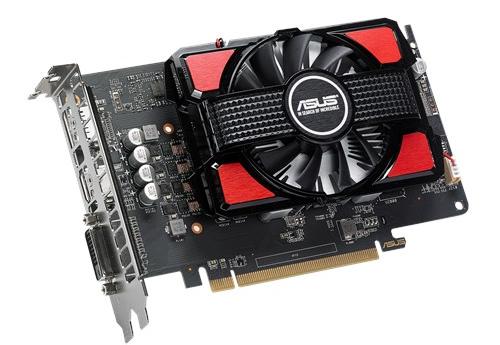 Asus представила две карты Radeon RX 550