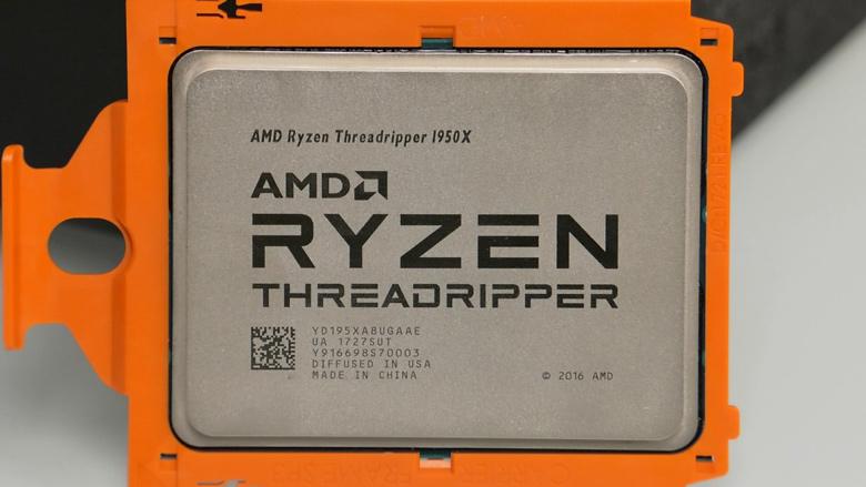 Начались продажи процессоров AMD Ryzen Threadripper