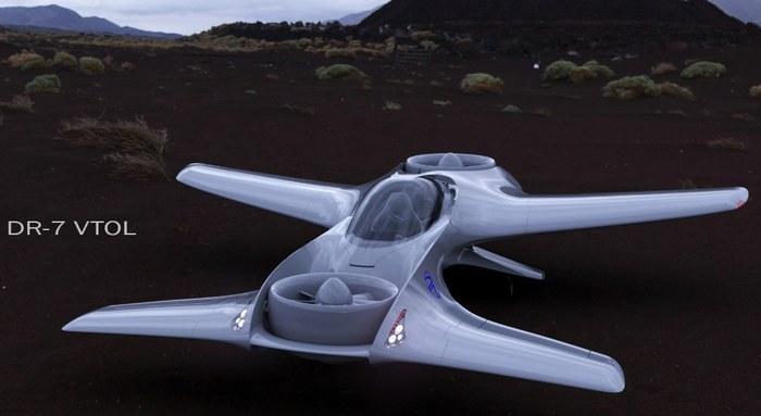 DeLorean разрабатывает летающий автомобиль из«Назад вбудущее