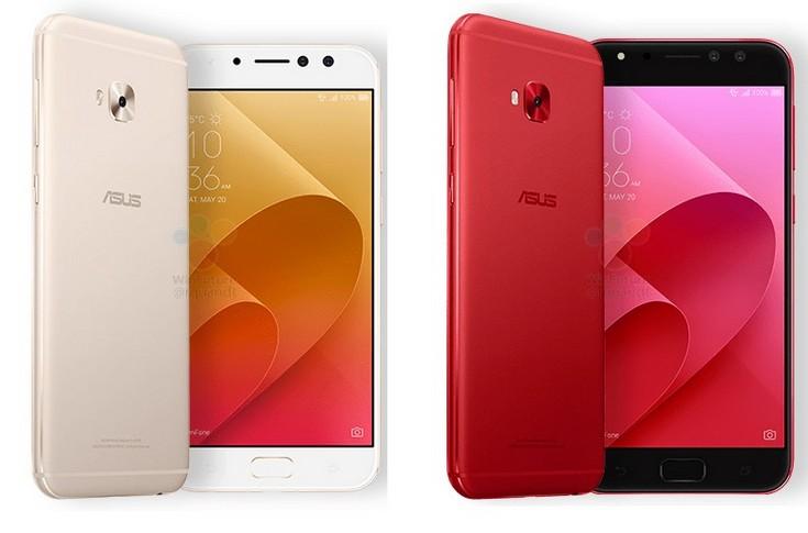 Стали известны параметры Asus ZenFone 4, ZenFone 4 Selfie и Selfie Pro