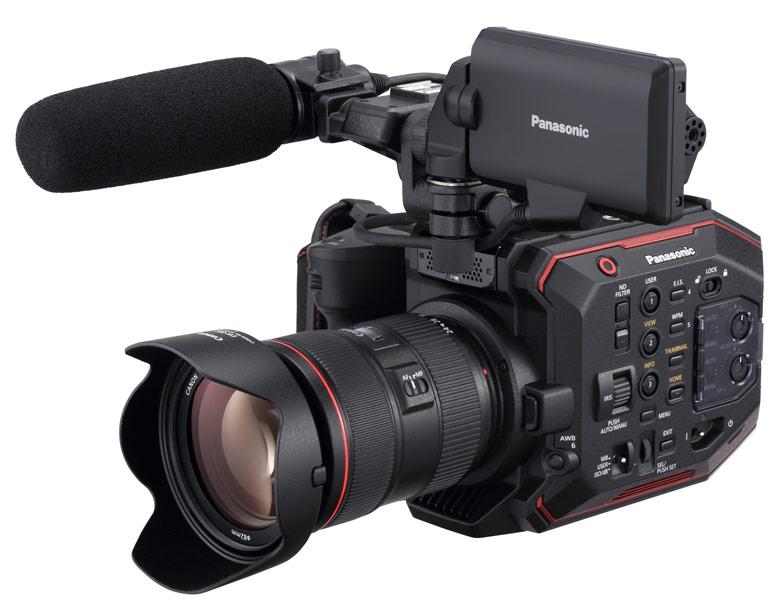 В камере используется специально разработанный датчик изображения формата Супер-35