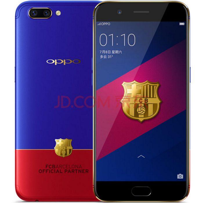 Смартфон Oppo R11 FC Barcelona Edition