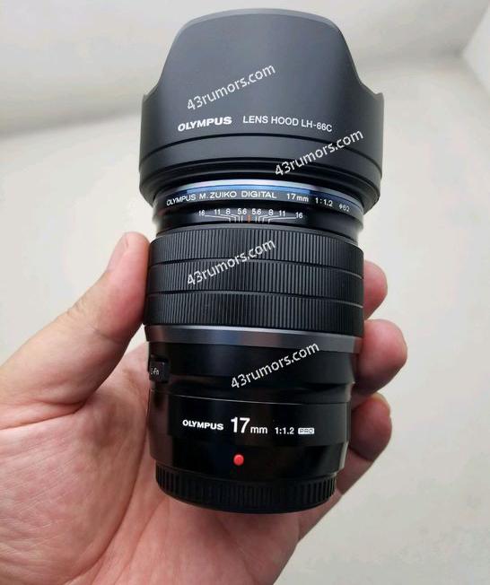 Новый объектив будет представлен одновременно с камерой Olympus OM-D E-M10 Mark III