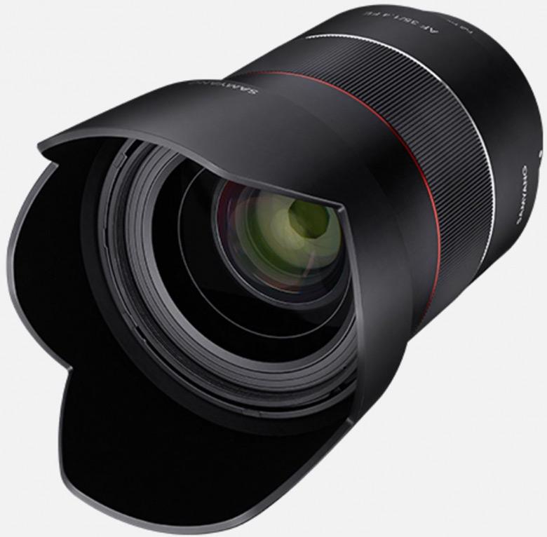 Полнокадровый объектив Samyang AF 35mm f/1.4 FE предназначен для камер с креплением Sony E