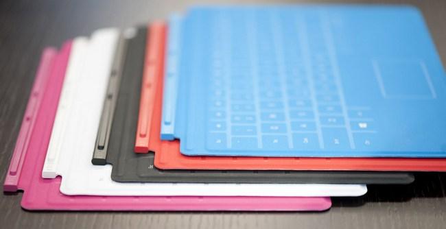 Microsoft может работать над чехлом-клавиатурой Touch Cover для iPad