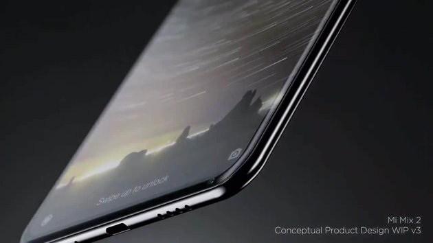 Раскрыт дизайн Xiaomi MiMIX 2-го поколения