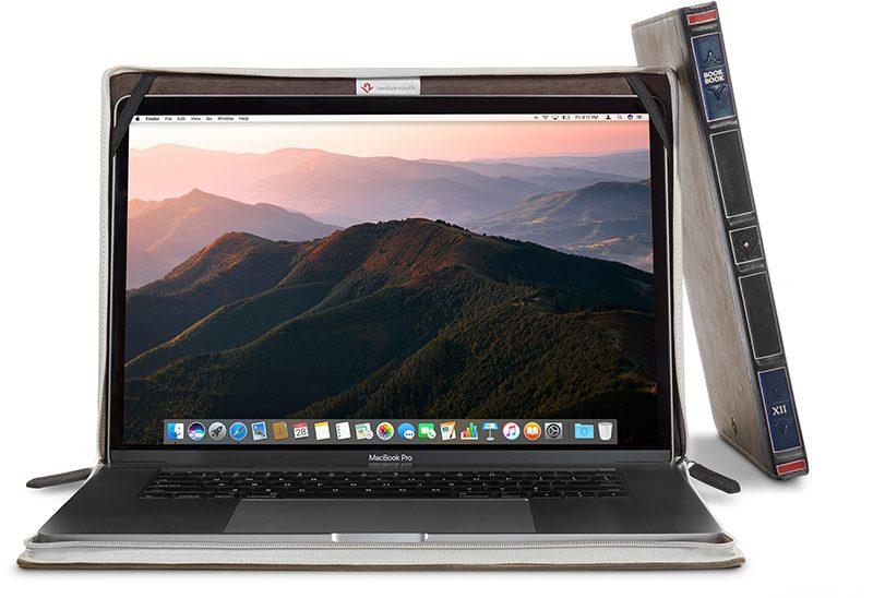 Twelve South выпустила чехол BookBook в форме книги для новых ноутбуков MacBook и MacBook Pro
