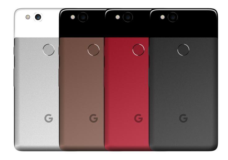 Google Pixel 2 будет доступен в коричневом цвете