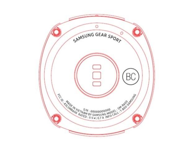 Самсунг  выпустит смарт-часы для спортсменов Gear Sport