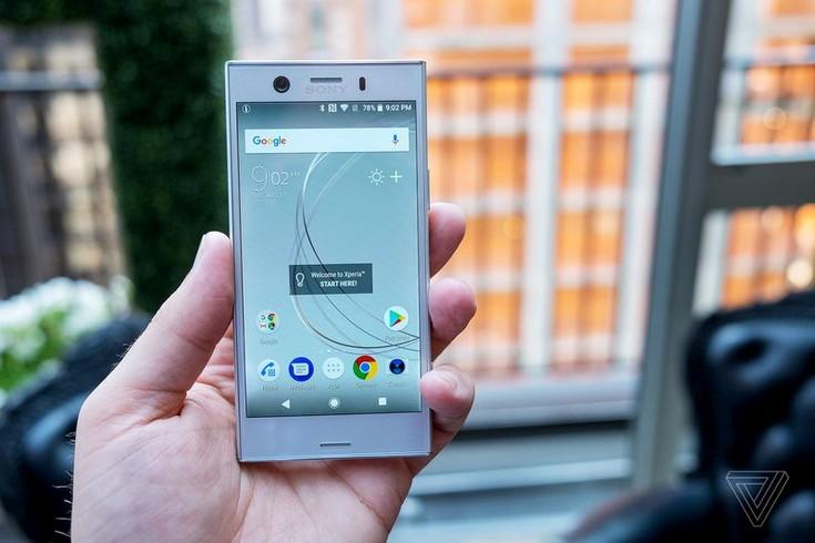 Sony представила смартфоны Xperia XZ1 и Xperia XZ1 Compact
