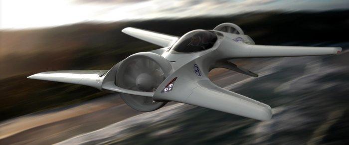 Летающий автомобиль DeLorean DR-7 будет иметь дальность хода до 200 км