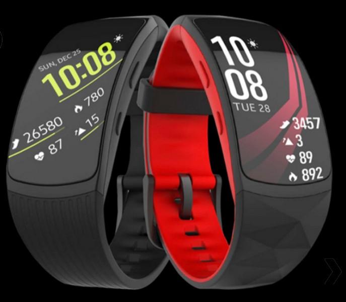 Все детали оновом фитнес-браслете Самсунг Gear Fit 2 Pro