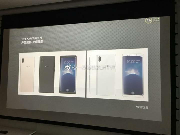 Смартфон Vivo Xplay 7 получит оригинальный дизайн