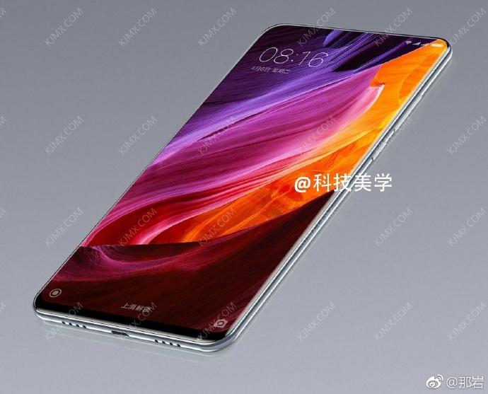 Смартфон Xiaomi Mi Mix 2 ожидается в продаже 12 сентября
